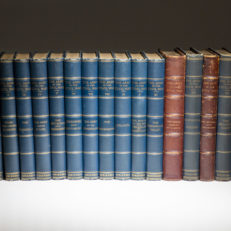 The complete 16 volume set of The Army In The Civil War and The Navy In The Civil War, from Charles Scribner's Sons in 1885