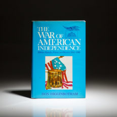 First printing of The War of American Independence by Don Higginbotham