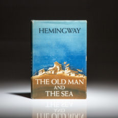First edition, second printing of Old Man and The Sea by Ernest Hemingway