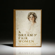 First edition of A Dream Of Fair Women by Harrison Fisher
