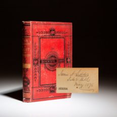 Confederate Secretary of War James Seddon's copy of The Chemistry of Light and Photography by Hermann Vogel