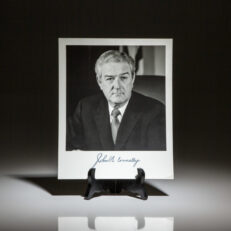 John Connally archive. Signed material.