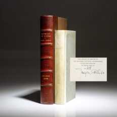 Signed limited edition of Notes On My Books by Joseph Conrad