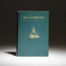 First edition of Lawrence Van Alstyne's Diary of an Enlisted Man.