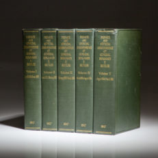 Five volume set of the Private and Official Correspondence of General Benjamin F. Butler