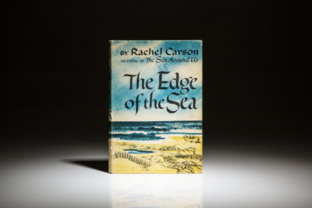 First edition of The Edge of the Sea by Rachel Carson