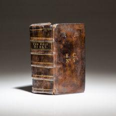 The John Field English Bible, printed in 1653.