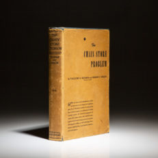 First edition of The Chain Store Problem by Theodore Beckman and Herman Nolen