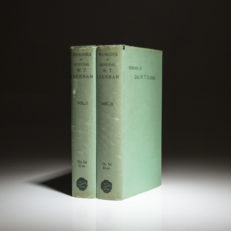 The second edition of the Memoirs of General William T. Sherman, in scarce dust jackets