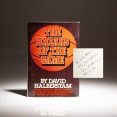 The Breaks Of The Game by Halberstram.