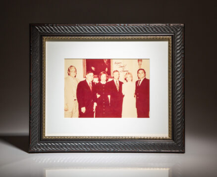 Photograph signed by President Jimmy Carter to Chicago business executive and political supporter, Gene Heytow.