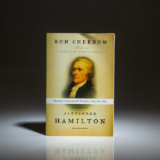 Advance Uncorrected Proof copy of Alexander Hamilton by Ron Chernow.