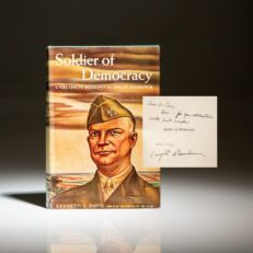 Signed first edition of Soldier of