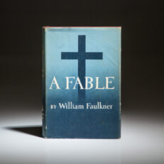 First edition of A Fable by William Faulkner, in publisher's dust jacket.