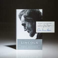 First edition of Lincoln: The Screenplay, signed by Doris Kearns Goodwin and Tony Kushner.