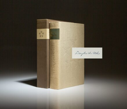Limited edition of Reminiscences, signed by General Douglas MacArthur.