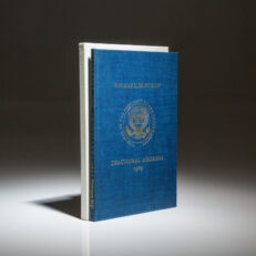 Limited edition of The Inaugural Address of Richard M. Nixon, from the estate of Representative E.Y. Berry of South Dakota.