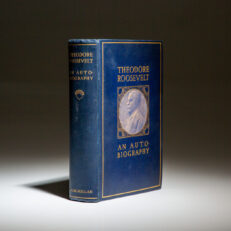 First edition of An Autobiography by Theodore Roosevelt, in fine condition, printed in 1913.