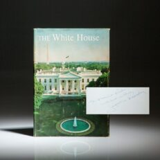 The White House Guide, signed by First Lady Jacqueline Kennedy.