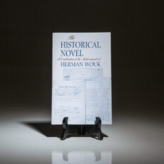 First edition of The Historical Novel, a compilation of articles about Herman Wouk, with laid-in letter from Herman Wouk to New York Times columnist, Bill Safire.