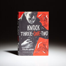 First edition of Knock Three-One-Two by Fredric Brown.