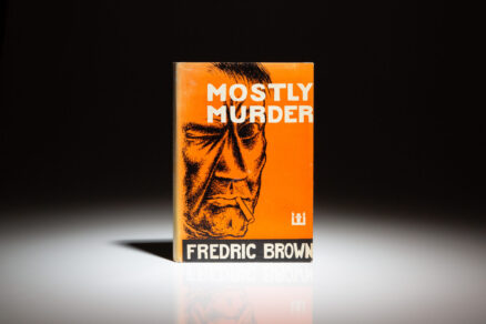 First edition of Mostly Murder by Fredric Brown.