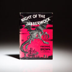 First edition of Fredric Brown's Night Of The Jabberwock.