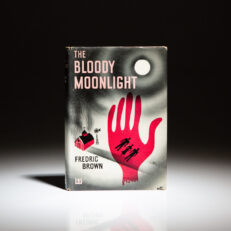 First edition of The Bloody Moonlight by Fredric Brown.
