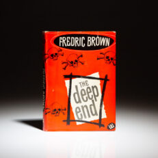 First edition of The Deep End by Fredric Brown.