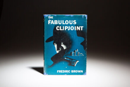 Second printing of the Fabulous Clipjoint by Fredric Brown.