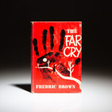 First edition of The Far Cry by Fredric Brown.