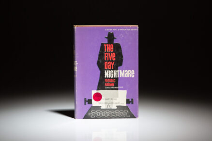First edition of The Five-Day Nightmare by Fredric Brown.