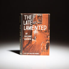 First edition of The Late Lamented by Fredric Brown.