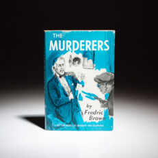 First edition of The Murderers by Fredric Brown.