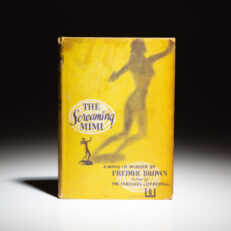 First edition of The Screaming Mimi by Fredric Brown.