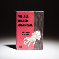 First edition of We All Killed Grandma by Fredric Brown.