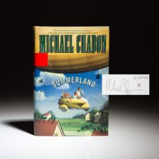 First edition of Summerland, signed by Michael Chabon.