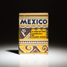 Mexico: A Study of Two Americas by Stuart Chase. Illustrated by Diego Rivera.