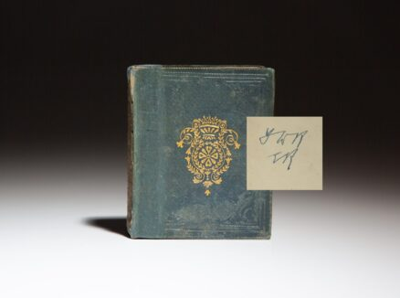 From the personal library of Franklin and Eleanor Roosevelt, the Little Picture Bible and New Testament by Isabella Child, signed by Eleanor Roosevelt.