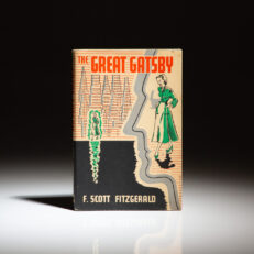 The Great Gatsby by F. Scott Fitzgerald, the second impression of the first British edition.