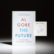 Signed first edition of The Future: Six Drivers of Global Change by Vice President Al Gore.