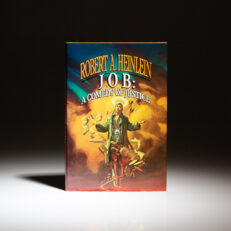 First edition of JOB: A Comedy of Justice by Robert A. Heinlein.