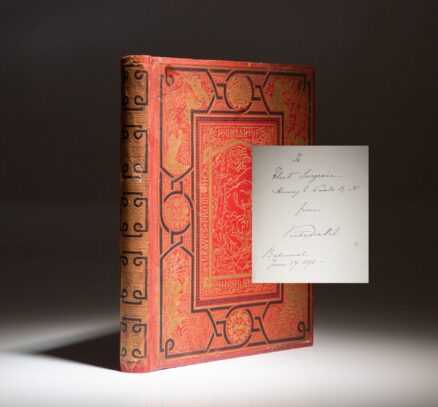 Leaves from the Journal of Our Life in the Highlands, from 1848 to 1861, signed by Queen Victoria to Fleet Surgeon Henry C. Woods.