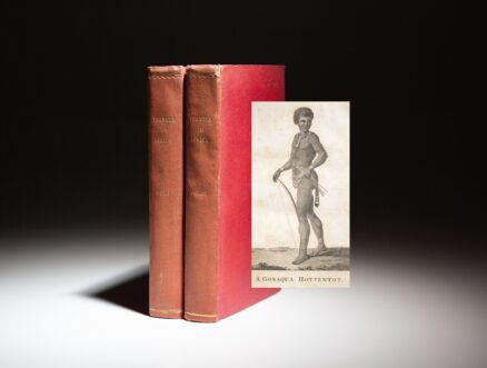First edition in English of Travels Into The Interior Parts Of Africa by M. Le Vaillant.