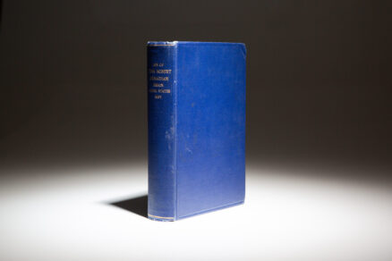 First edition of Life of John Robert Monaghan: The Hero of Samoa by H.L. McCulloch.