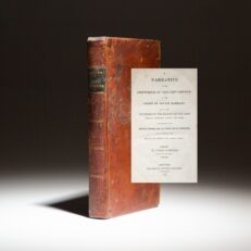 First American Edition of Judah Paddock's A Narrative of the Shipwreck of the Ship Oswego.