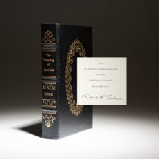 Signed limited edition of The Tempting of America by Robert Bork.