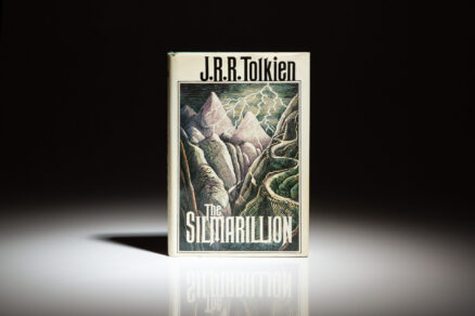 First printing of The Silmarillion by J.R.R. Tolkien.