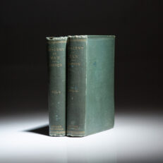 The second edition of The Descent of Man, and Selection in Relation to Sex by Charles Darwin.