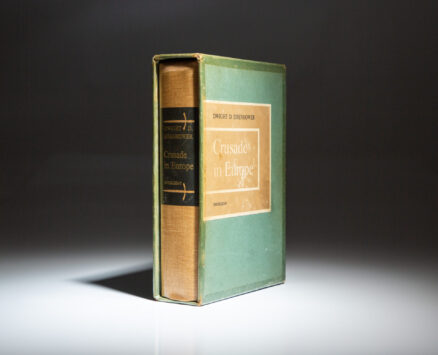 Signed limited edition of Crusade in Europe by Dwight D. Eisenhower.